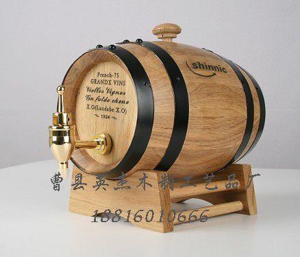 br>标题:木制酒桶